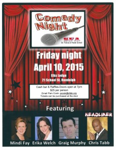 SFA Comedy Night Flyer